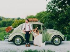 Inspiración para coches de boda y otros vehículos.