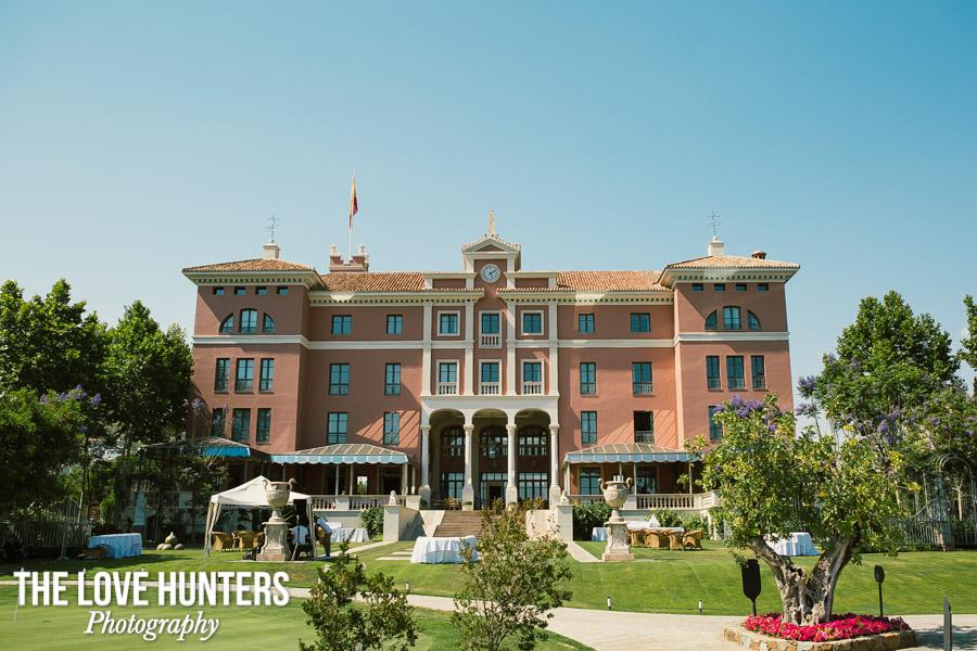 Boda villa padierna hotel palace marbella the love hunters - Hotel la villa marbella ...