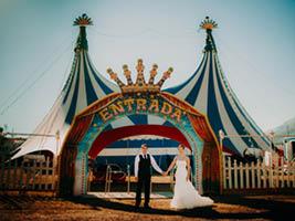 boda circo