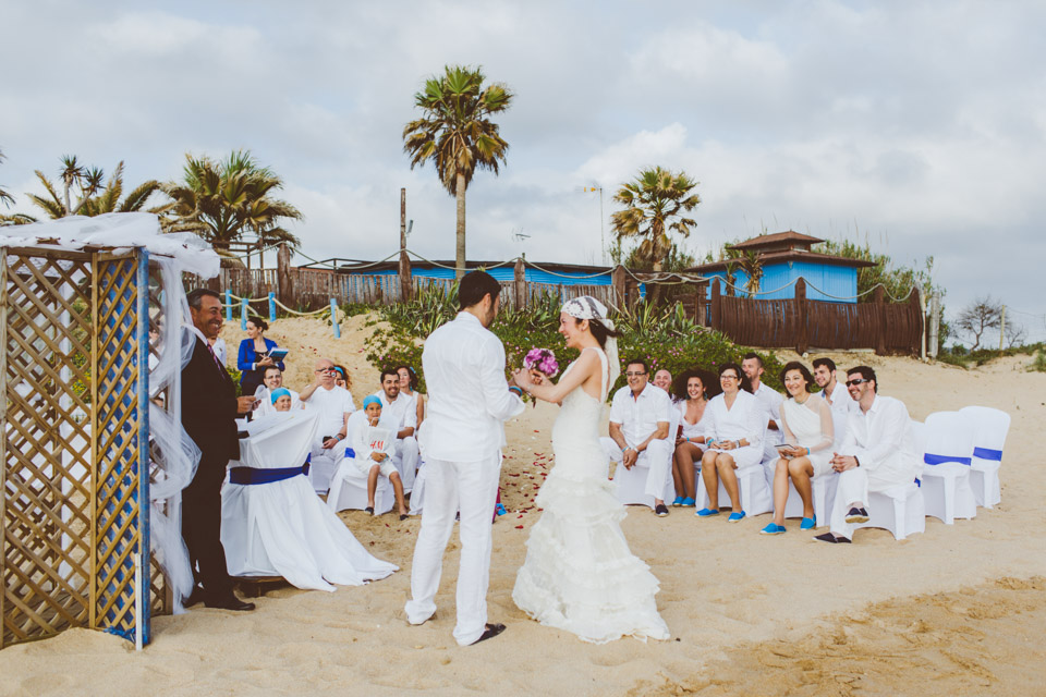 Wedding Sajorami beach
