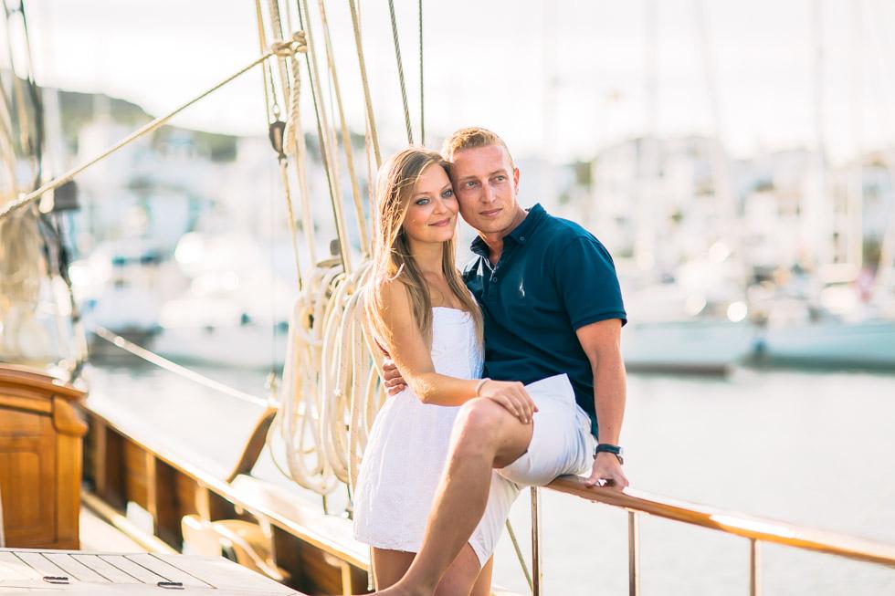 reportaje preboda en barco