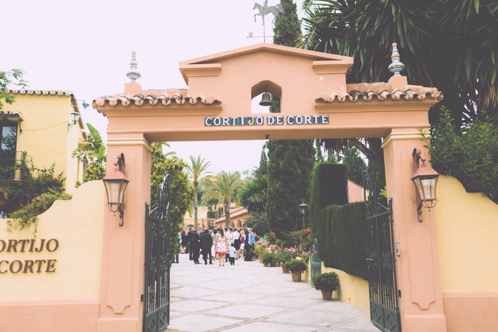 boda en el Cortijo de Cortes Marbella 14