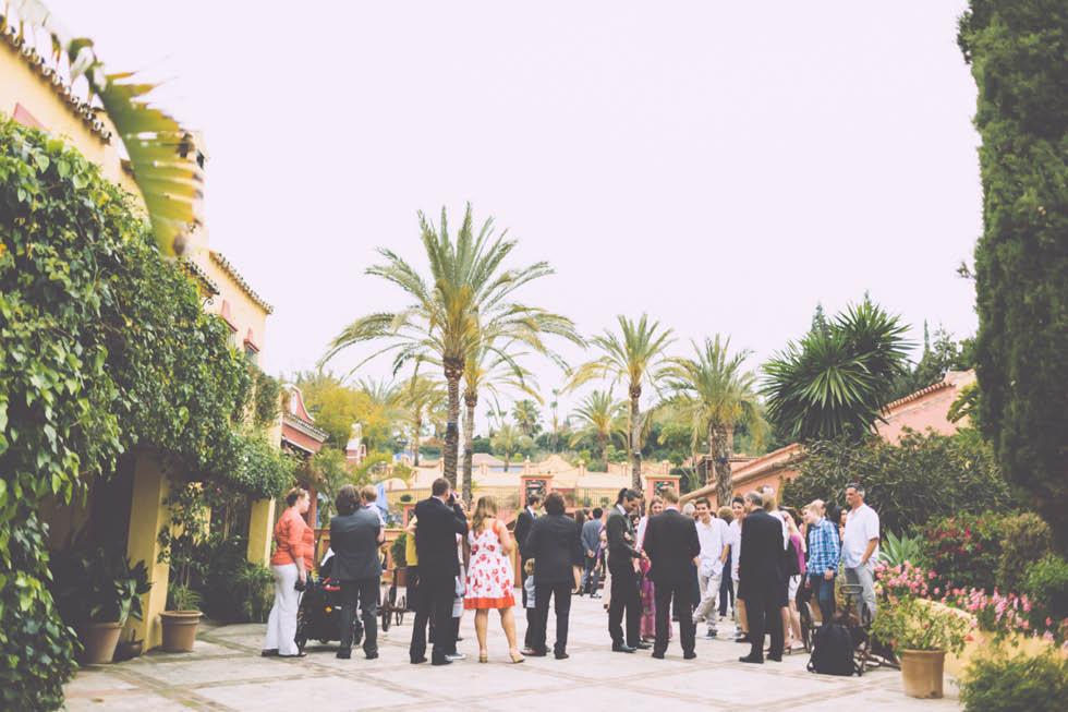 boda en el Cortijo de Cortes Marbella 16