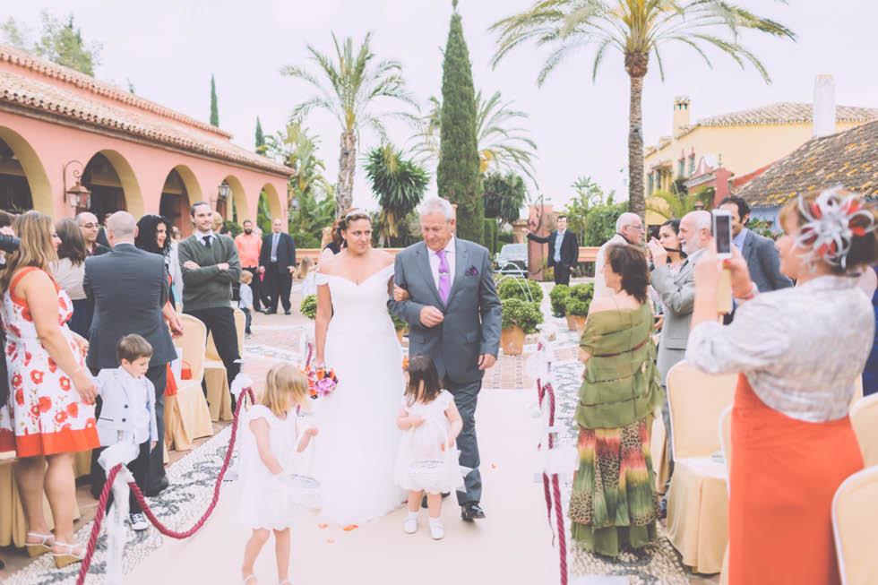 boda en el Cortijo de Cortes Marbella 20
