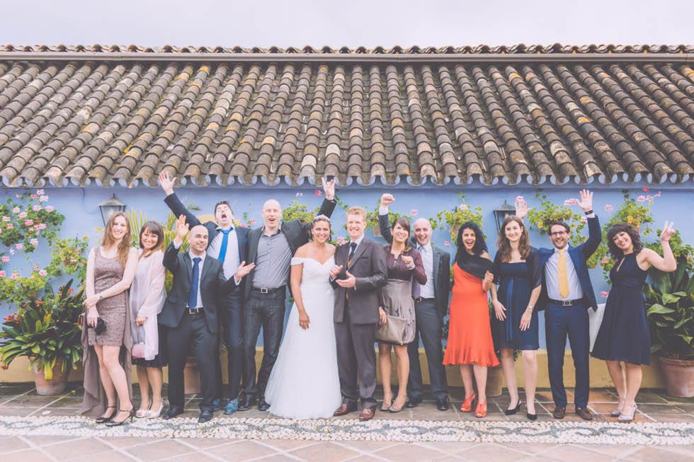 boda en el Cortijo de Cortes Marbella 53