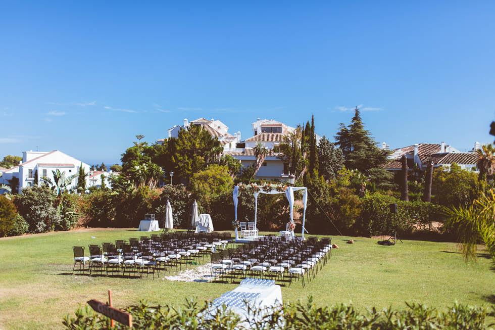 boda en la Meridiana del Alabardero