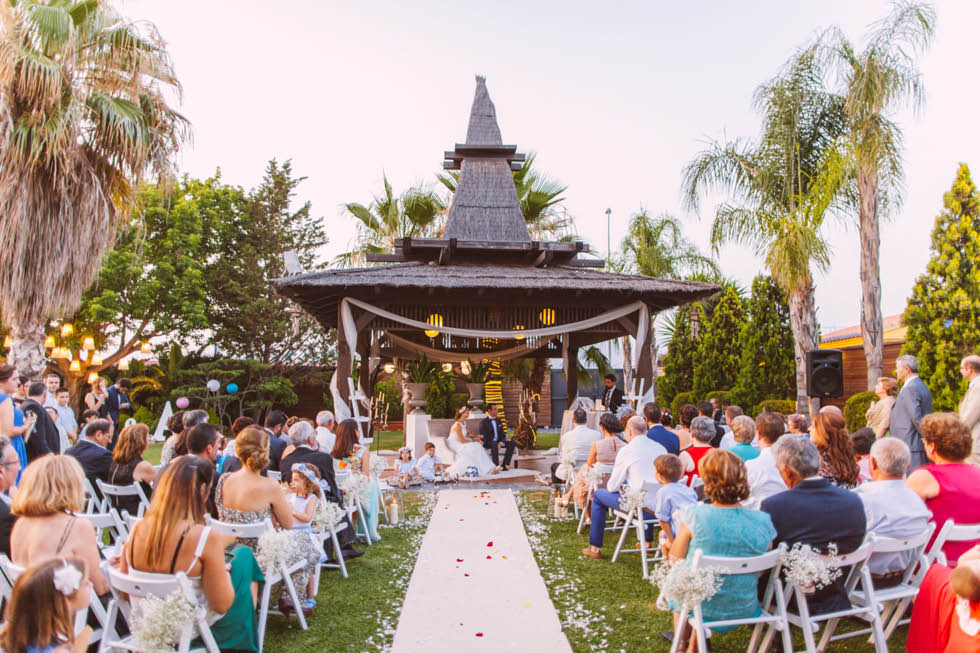 boda en Parque del Rio