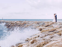 TRASH THE DRESS IN SANDY BAY | GIBRALTAR