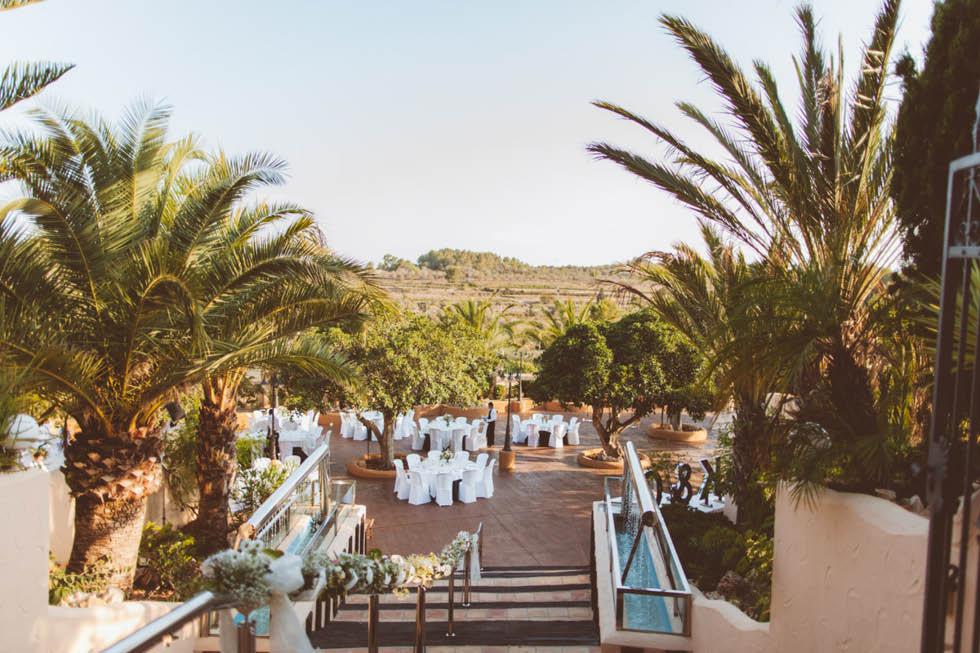 boda Canor Moraira Alicante 98