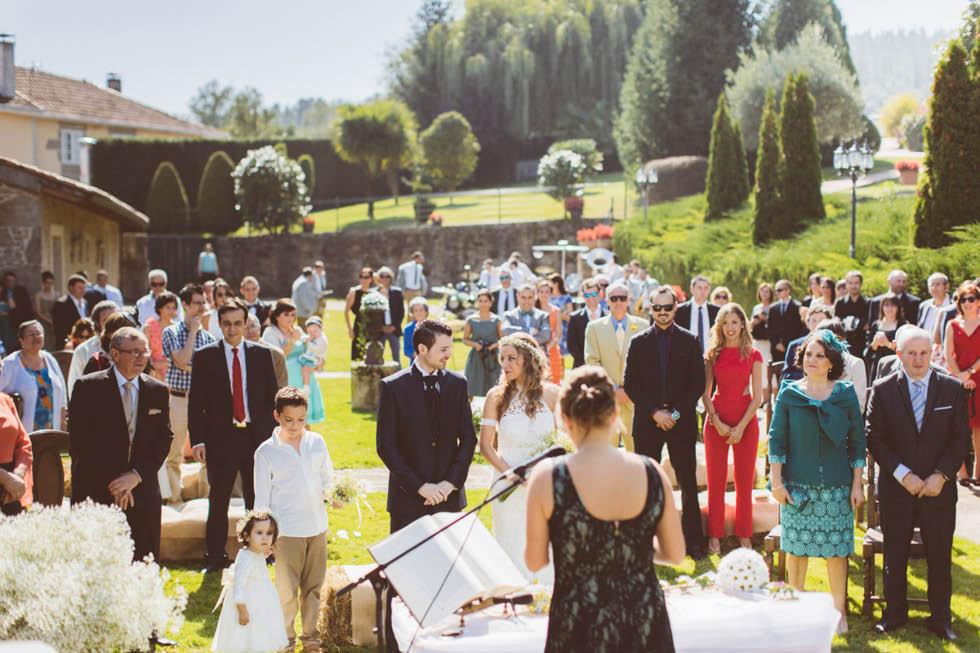 Esta es la boda en la Casa Quinteliña de Chantada de Eva & Lois.