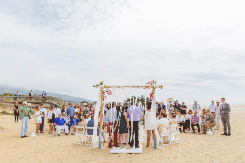 boda en la playa de Valdevaqueros