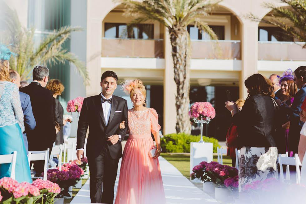 boda en el Hotel Golf Almerimar