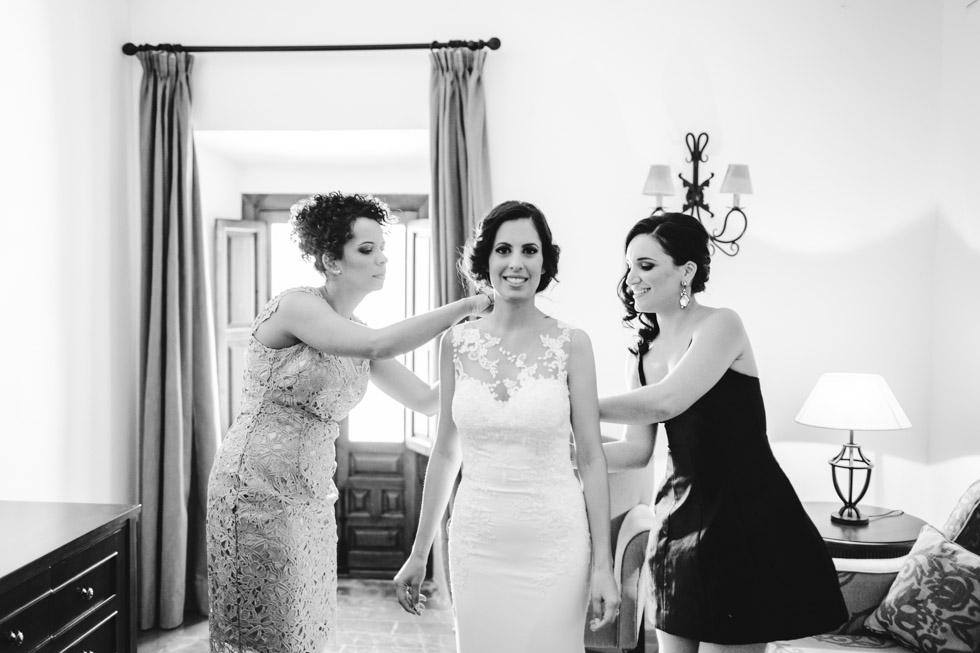 boda en el hotel Convento de la Magdalena