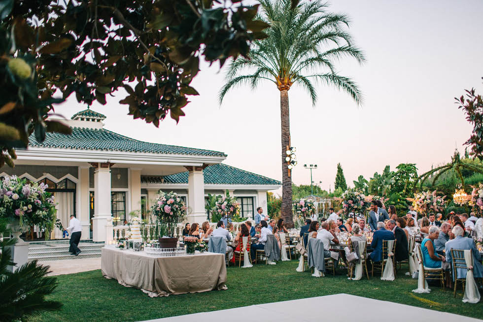 Boda en Villa Andalucia Marbella