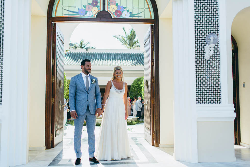 Wedding in Villa Andalucia Marbella