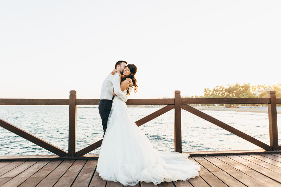 reportaje post boda en Marbella