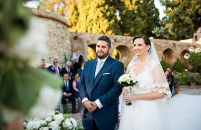 wedding castillo santa catalina
