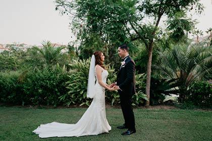 wedding at El Campanario Golf Estepona