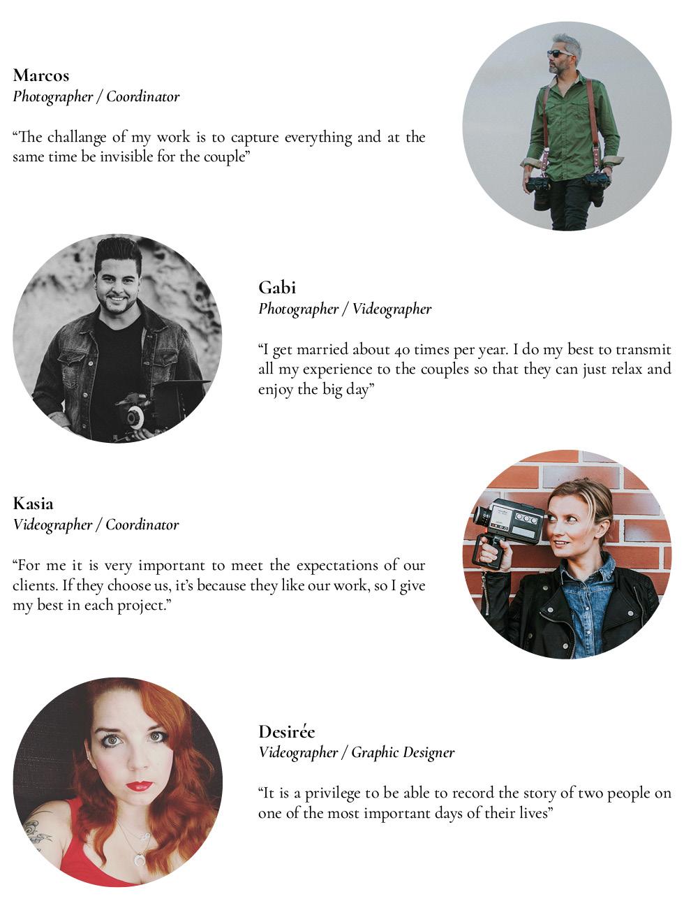 The Love Hunters photographers