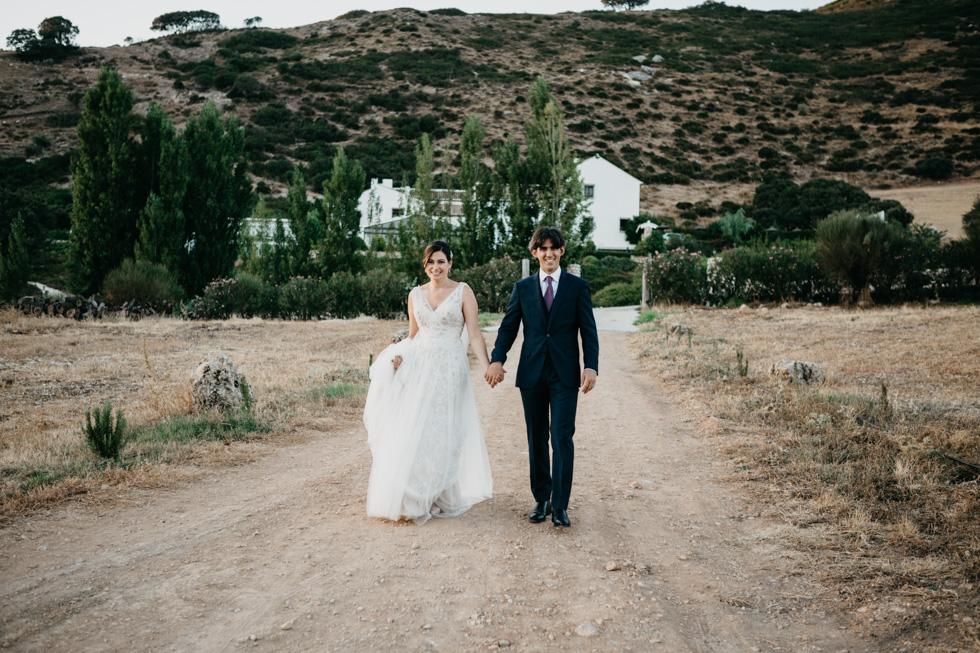 boda fuente del sol