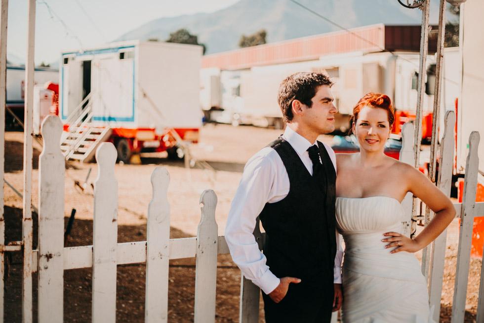 boda en un circo
