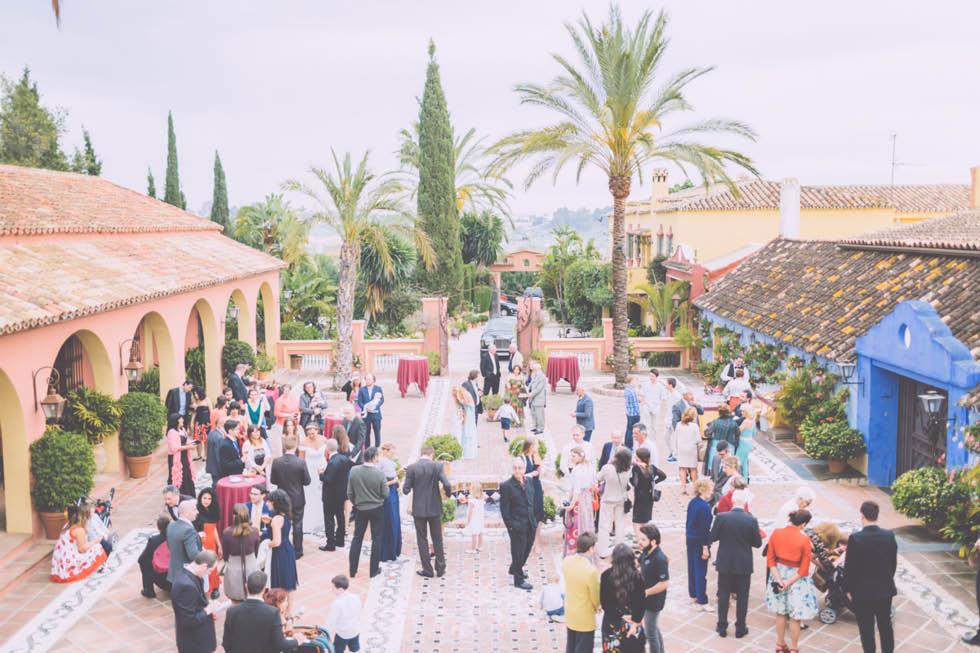 boda en el Cortijo de Cortes Marbella 38