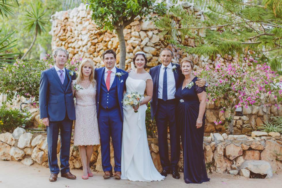 boda Canor Moraira Alicante 88