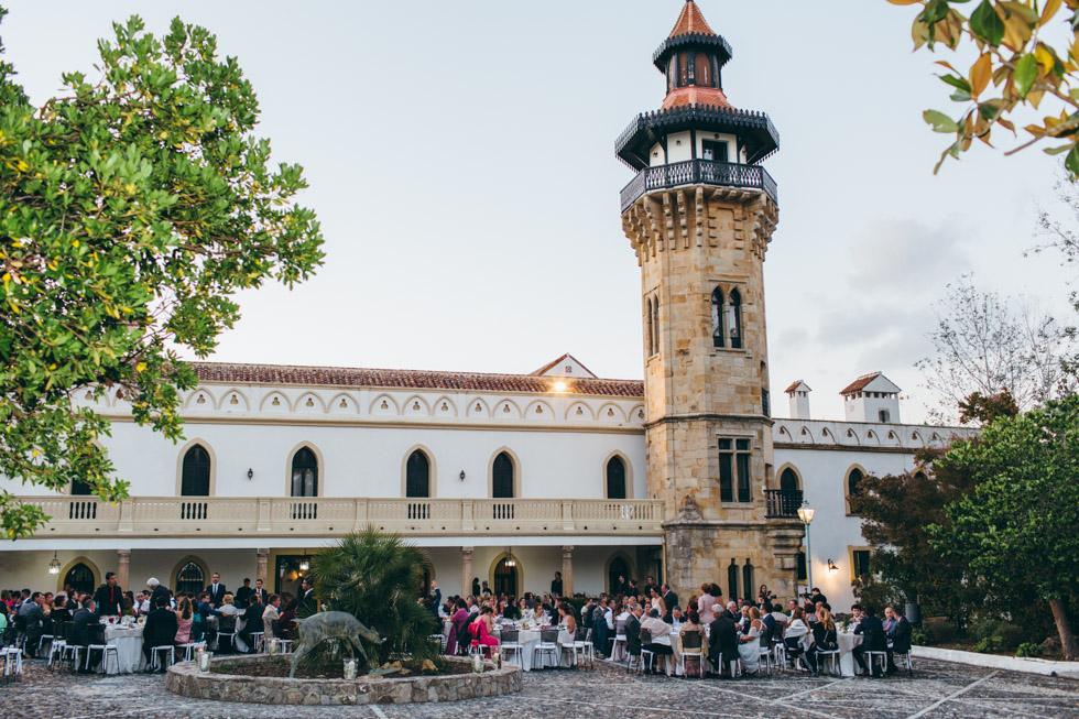 boda el Hotel Convento La Almoraima