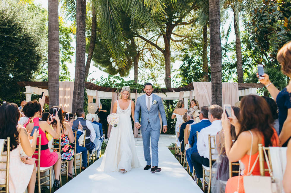Wedding at Villa Andalucia