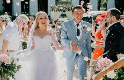 wedding villa padierna marbella